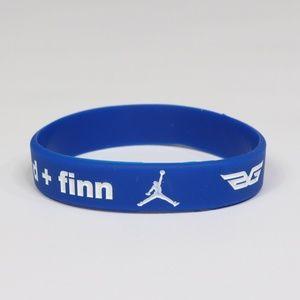 New Nike Jordan Blake Griffin Custom Bracelet Blue